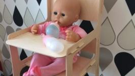 Стульчик для кормления для кукол baby born baby annabell