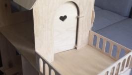 Кукольный домик 124см-97, 8см-35см