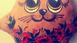 Котик в маках