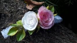 Повязка с розами