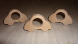 Грызунок из дерева - машинка, ручная работа