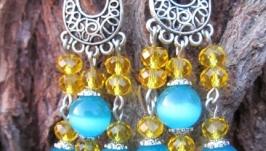 Сережки ′Блакитні′