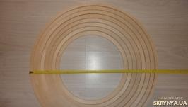 Гулливер. Круг - кольцо из дерева 19 мм. Основа для ловца снов