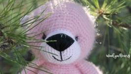 Розовый мишка Мистер Пинк