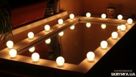 Гримерное зеркало ′Кураж′ с подсветкой