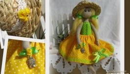 Кукла в подарок, ручная работа