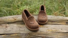 Валяные туфли Птичья любовь