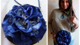 Сумочка ′Фантазійна квітка′