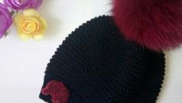Мериносовая шапочка