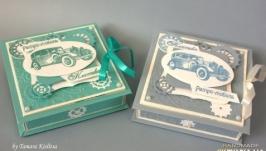 коробочка для денежного подарка для мужчины
