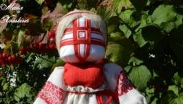 Лялька-мотанка ′Дівчина-Калина′