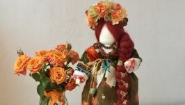 Лялька мотанка ′Осіння краса′.