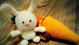 Заяц с морковкомобилем