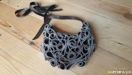 Ожерелье ′Серебряные узоры′