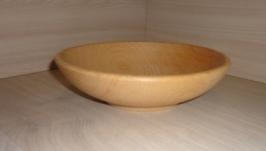 Деревянная тарелка глубокая, посуда из дерева