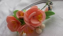 Квіти на обручі