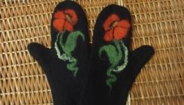 Валяные рукавицы