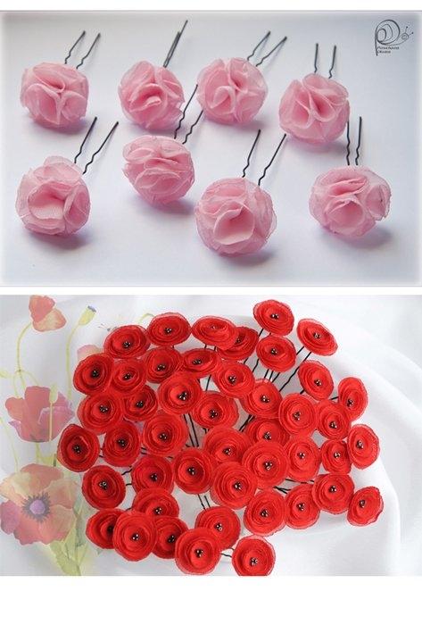 Цветы из фетра для начинающих фото
