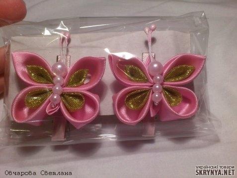 Резинки бабочки своими руками мастер класс