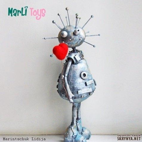 Роботы для девочек сделать своими руками 84