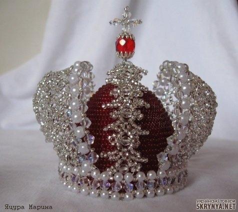 Как сделать корону российской империи своими руками