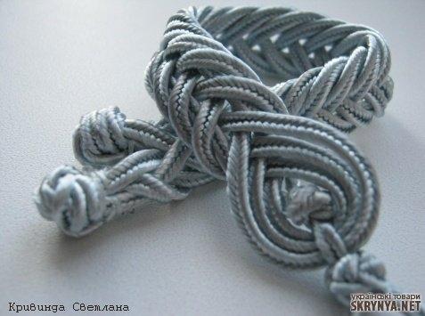 Браслет из нейлонового шнура своими руками