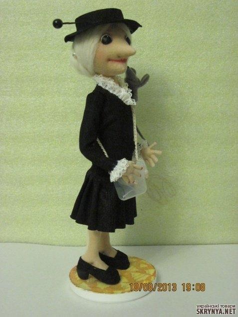 Шляпа для старухи шапокляк