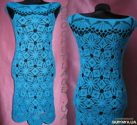 Вязанное платье 40 размера