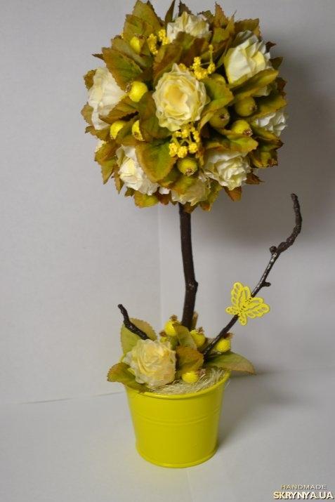 Изготовление топиария из цветов (100 фото) ЭтотДом