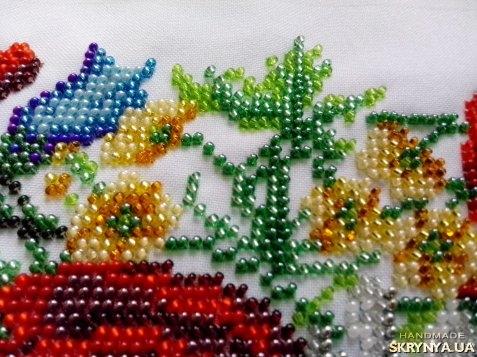 Двухцветный ленивый узор для вязания спицами