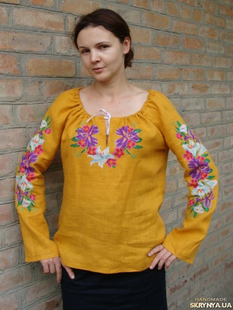 Льняная Блузка В Самаре