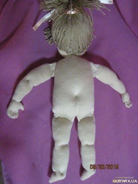 Как сделать волосы вальдорфская кукла