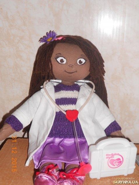Кукла доктор плюшева сшить