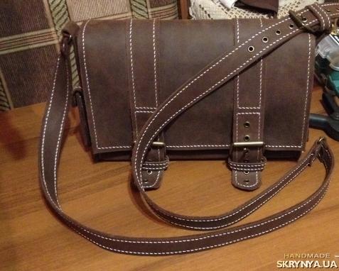 Кожаные сумки подсумки / Купить кожаные байкерские