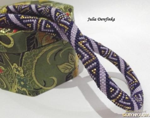 Браслеты из бисера схемы плетения жгут
