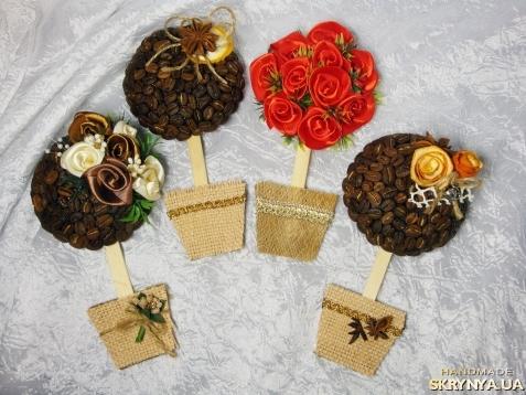 Купити Магнит Кофейный топиарий в Казахстані
