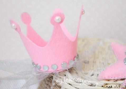 Корона на резинке своими руками 12
