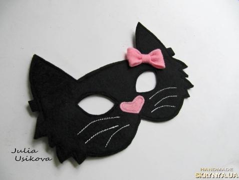 Маска кошечки для девочки своими руками - 3dfuse.ru