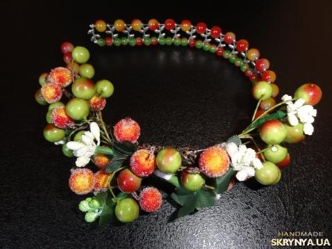 Обруч с ягодами