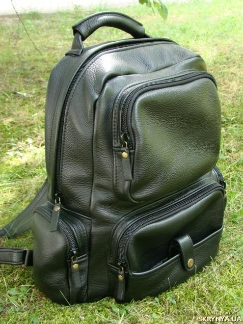 Сшить рюкзак из кожи фото