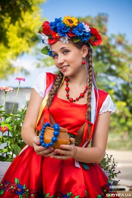 Венок для украинского костюма