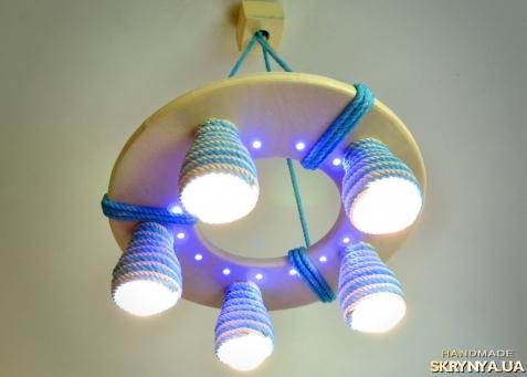 Детский потолочный светильник своими руками 79