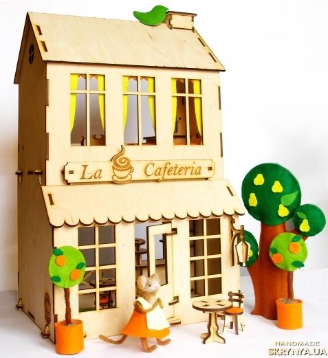тут зображено Ляльковий будинок ′Кафе′.
