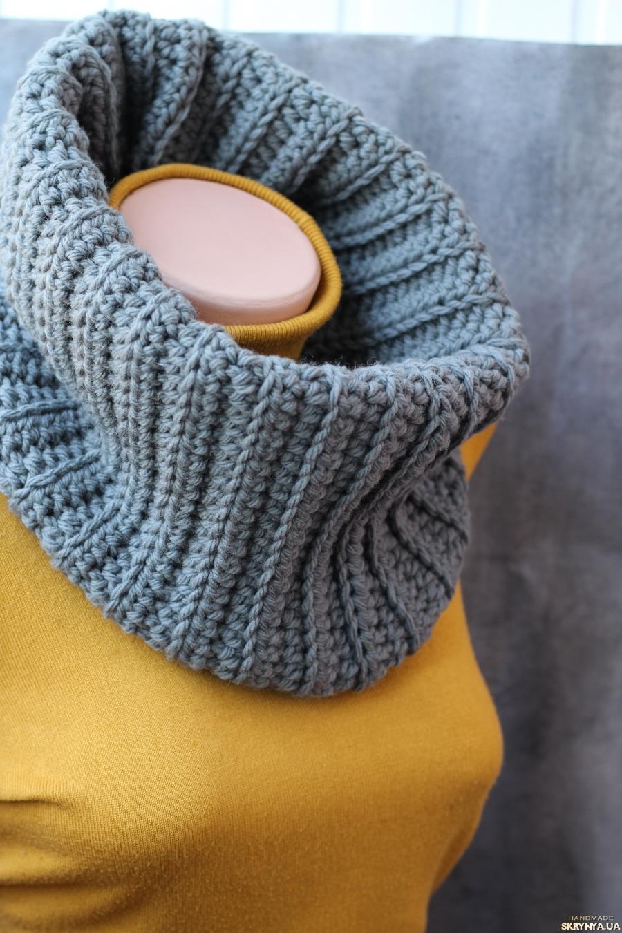 Снуд спицами для женщин: схемы вязания, новинки, узоры, размеры 66