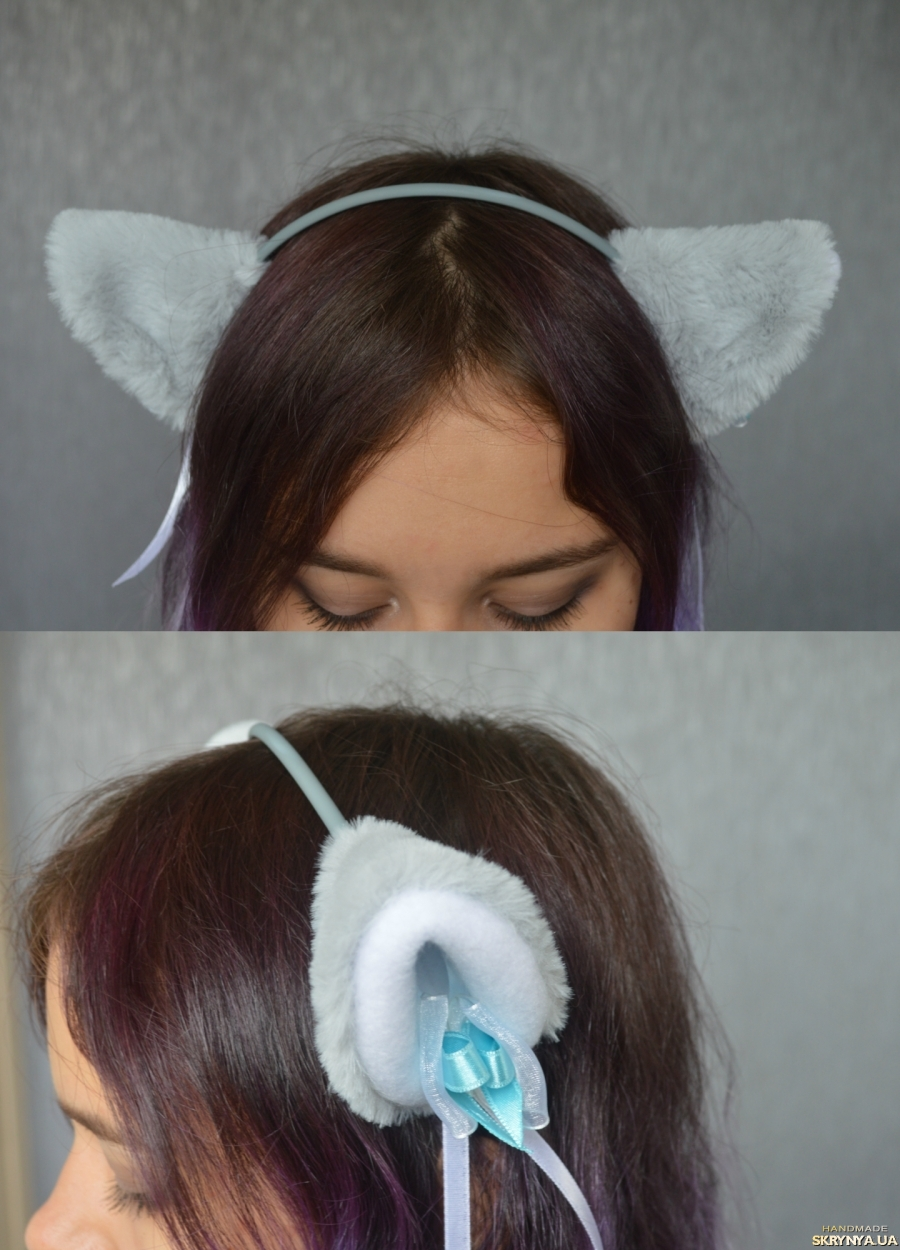 Как сделать меховые уши