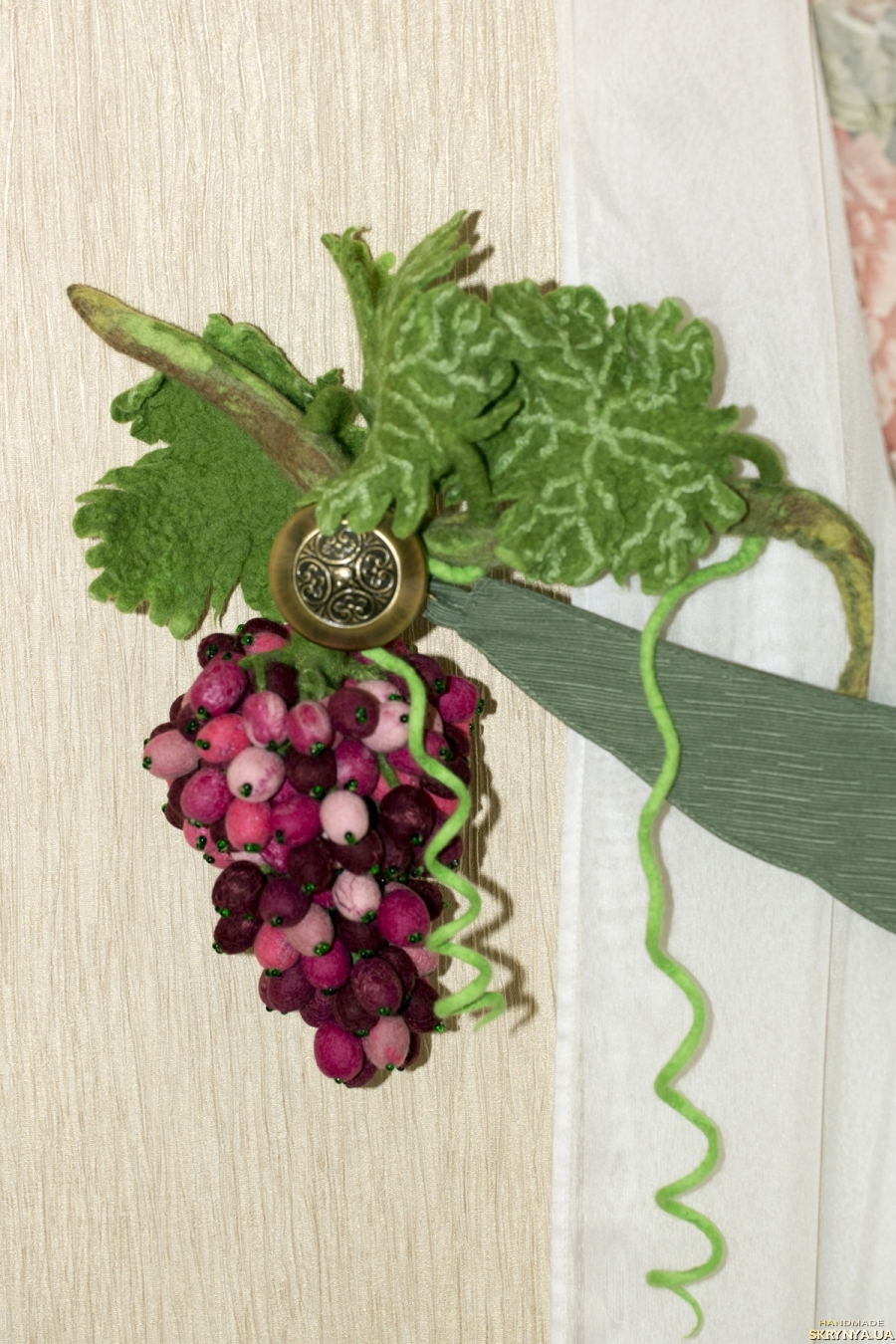 Сделать виноградную гроздь
