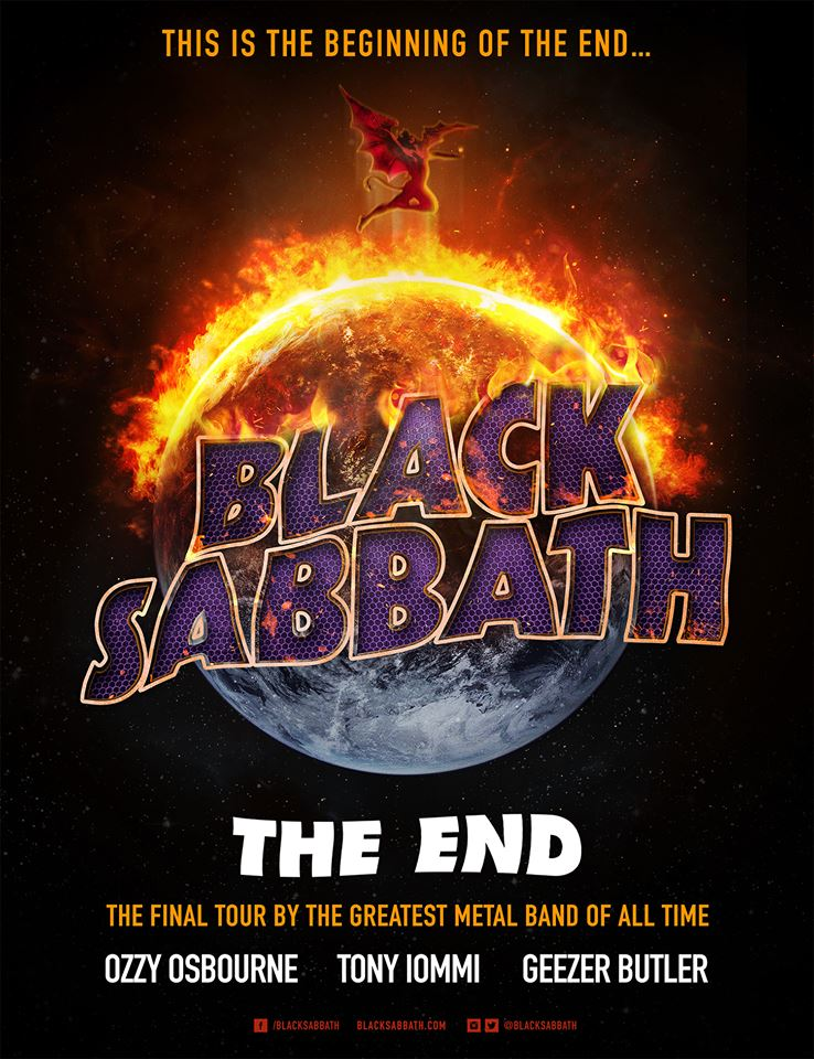 "Black Sabbath Announces ""The End"" European Tour Dates!"