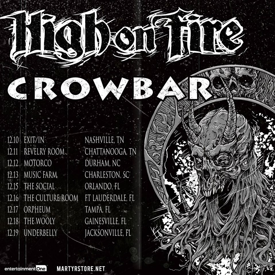 Watch High On Fire And Crowbar From The Front Row!