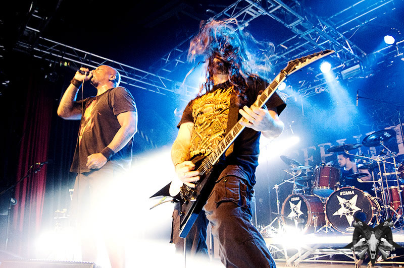 Sepultura Live Photos From Helsinki, Finland By Sam Roon!