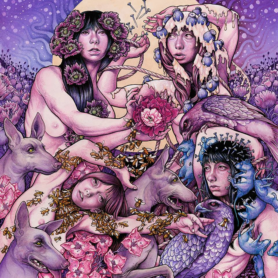 "Baroness Is Streaming ""Purple"" Online Right Now!"